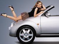 Sexy Car Models Wallpapers