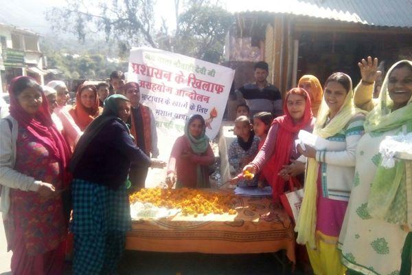 Naubahi Mata Temple celebrated the anniversary of the movement - Mandi News in Hindi