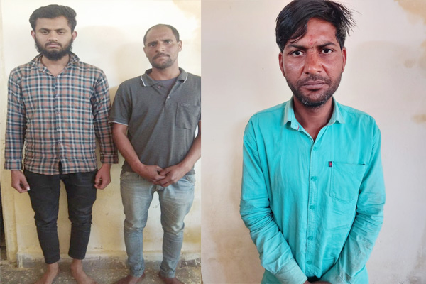 Three accused of illegal drug smuggling arrested, more than 4 kg hemp recovered - Jaipur News in Hindi