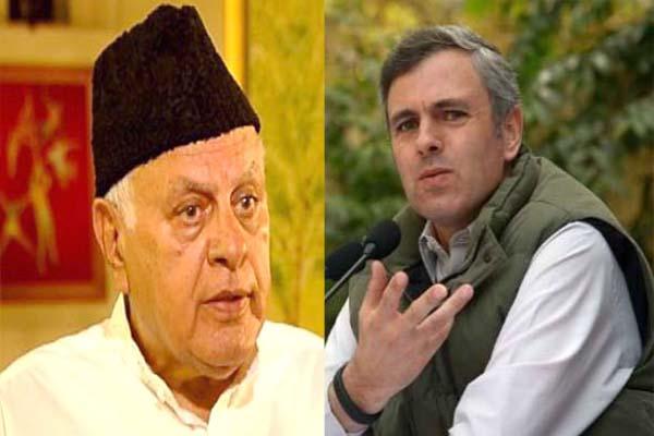NC MP Hasnain Masoodi said Farooq and Omar Abdullah will not take legal recourse for release - Srinagar News in Hindi