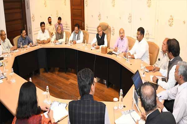 Shutdown in state offices, examinations postponed in Rajasthan - Jaipur News in Hindi