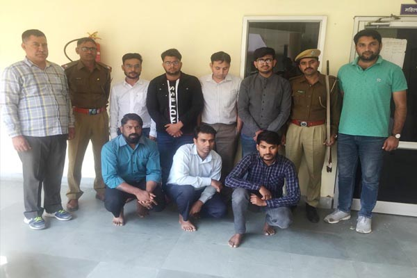 23 accused of cheating crores of rupees arrested in jaipur - Jaipur News in Hindi
