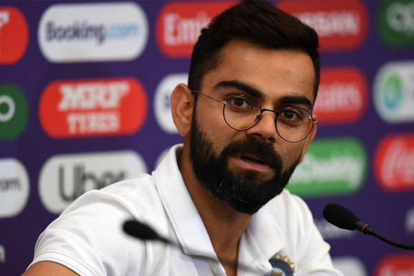 World Cup 2019 : Virat Kohli reaction about Kagiso Rabada - Cricket News in Hindi