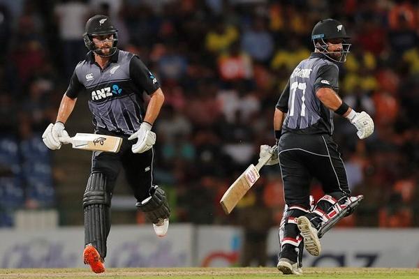 Second T20 Match : New Zealand beat Sri Lanka by 4 wickets - Cricket News in Hindi