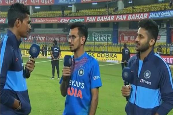 Second T20 Match : Navdeep Saini reaction about Jasprit Bumrah, Shardul Thakur says... - Cricket News in Hindi