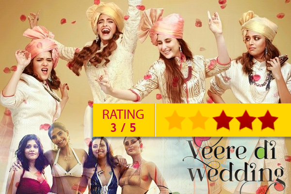 Veere di wedding movie review - Movie Review in Hindi