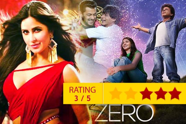 Zero Movie Review Shahrukh Khan Anushka Sharma Katrina Kaif - Movie Review in Hindi