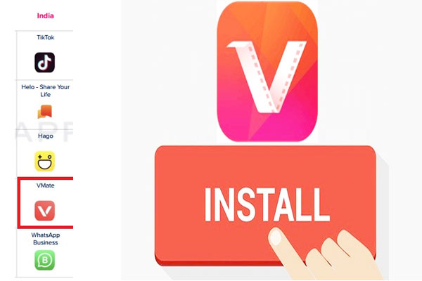 VMate included in the top 5 breakout apps in the social media app category - Gadgets News in Hindi