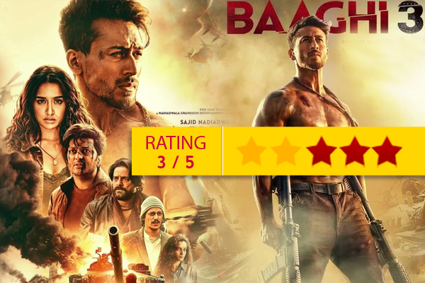 Baaghi 3 Movie Review: Tiger Shroff  Tremendous Action  in the film Baaghi 3 - Movie Review in Hindi