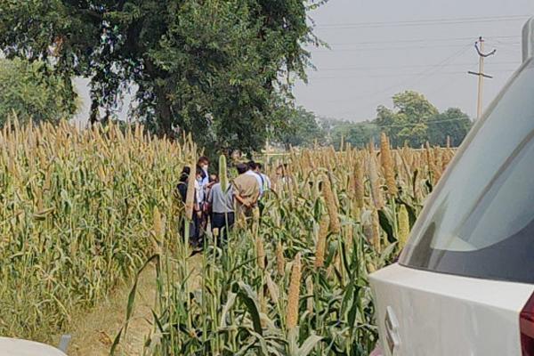 हाथरस : CBI जांच के चलते किसान की फसल बर्बाद, मुआवजा मांगा