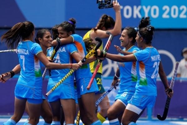Olympics India beat Australia 1-0, storm into womens hockey semifinals - Sports News in Hindi
