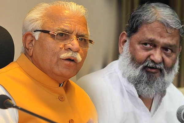 CID controversy continues cm manohar lal khattar between anil vij - Chandigarh News in Hindi