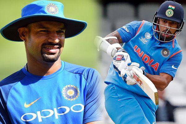 Champions Trophy : Shikhar Dhawan comes on third position, see top 10 batsmen - Cricket News in Hindi