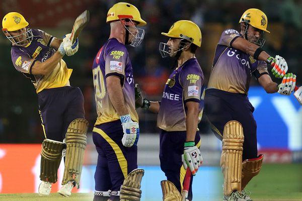 IPL-10 : Gautam Gambhir-Chris Lynn have highest partnership record, see top 10 - Cricket News in Hindi