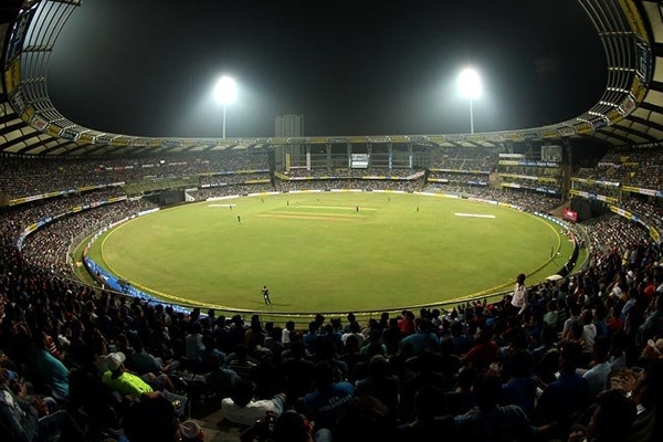 5 T20 matches have played at wankhede stadium in mumbai, see full report card - Cricket News in Hindi