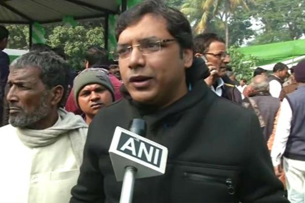 Bihar : RJD MLA appreciates CM Nitish Kumar in JDU dahi chura bhoj - Patna News in Hindi