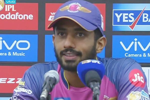 IPL-10 : RPS batsman Rahul Tripathi shares his experience - Cricket News in Hindi