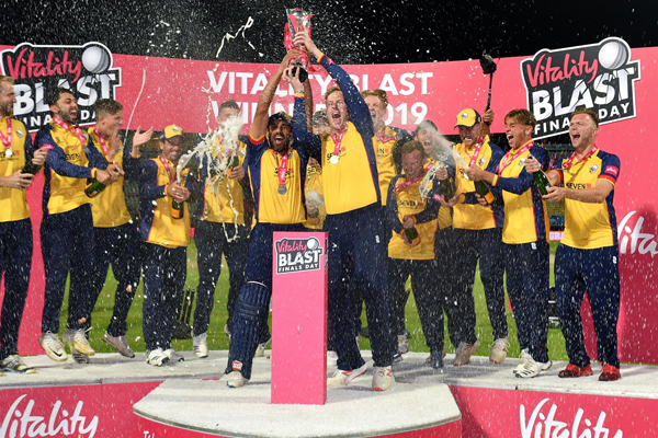 T20 Blast : Essex Eagles beat WorcestershireRapids to win title for first time - Cricket News in Hindi