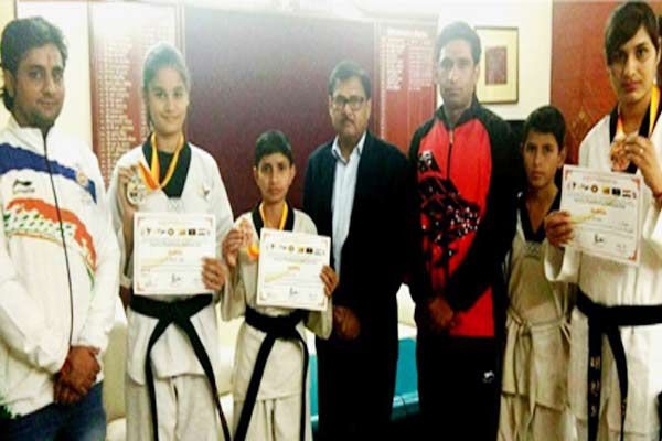 Taikwando medals in international competition team returned Bikaner - Bikaner News in Hindi