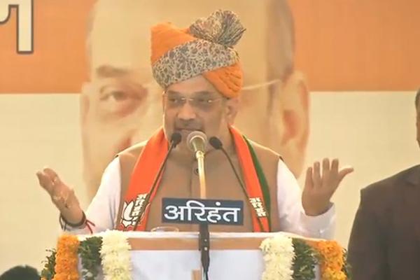 Rajasthan Election : Amit Shah attacks on Rahul Gandhi in Jodhpur - Jodhpur News in Hindi