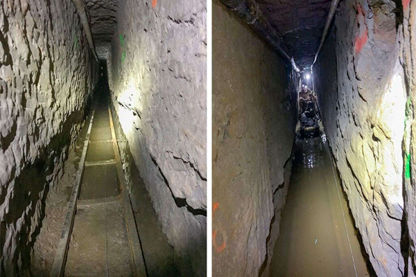 Longest Smuggling Tunnel Is Found at U.S.-Mexico Border - Ajabgajab Photo Gallery