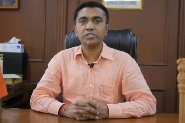 Goa CM  Pramod Sawant says, Religious gatherings exempt from Section 144 - Panaji News in Hindi