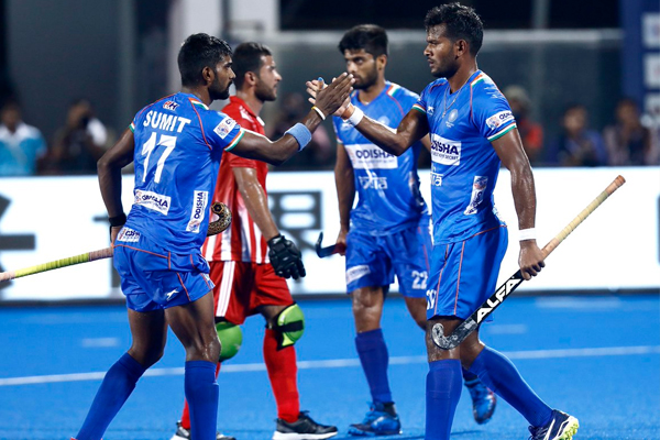 FIH Series : Indian hockey team enter in semifinal to beat Uzbekistan by 10-0 - Sports News in Hindi
