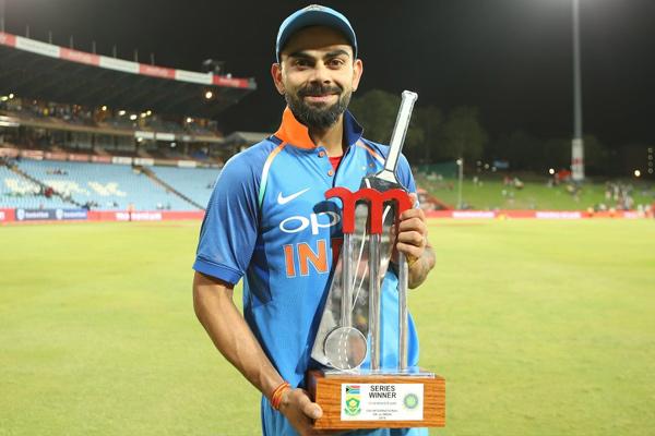 Virat Kohli reaction after winning odi series against South Africa - Cricket News in Hindi