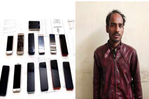 13 rogue arrested for looting a knife at Jaipur - Jaipur News in Hindi