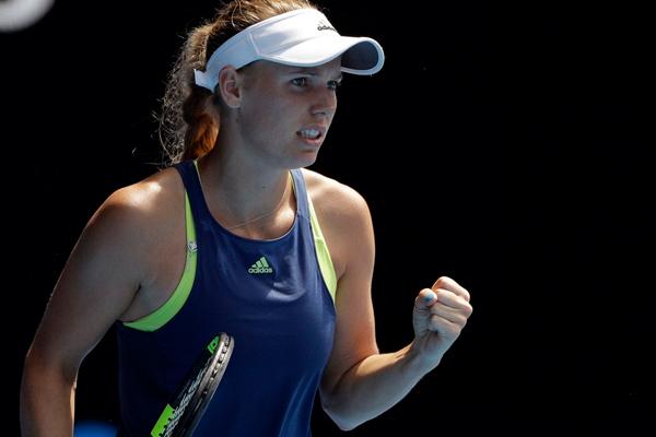 Australian Open : Caroline Wozniacki reaches in final to beat Elise Mertens - Tennis News in Hindi