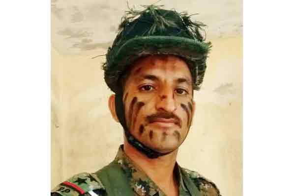 Bhanwar Singh won gold in police commando competition held in jodhpur - Barmer News in Hindi