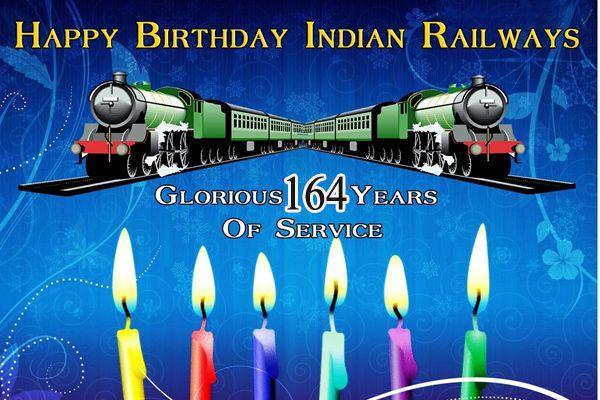 Railway Birthday Celebration, Cut cake, Indian Rail first time ran on April 16, 1853 From Mumbai to Thane - Ludhiana News in Hindi