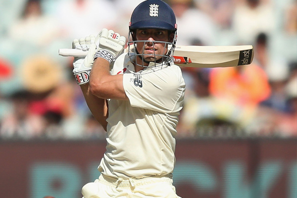 Fourth Test : England in controlled position with Alastair Cook unbeaten century - Cricket News in Hindi