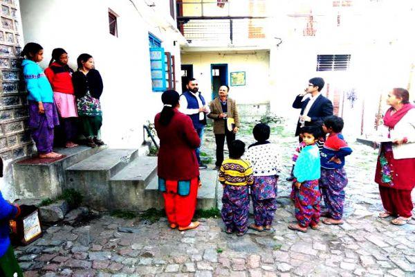 Balika Ashram inmates and inspected by the Deputy Commissioner - Shimla News in Hindi
