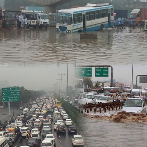 Monster Jam freezes Gurgaon, Delhi people don,t come - India News in Hindi