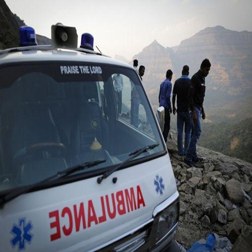 The truck brakes suddenly seem even resembled screams - Bikaner News in Hindi