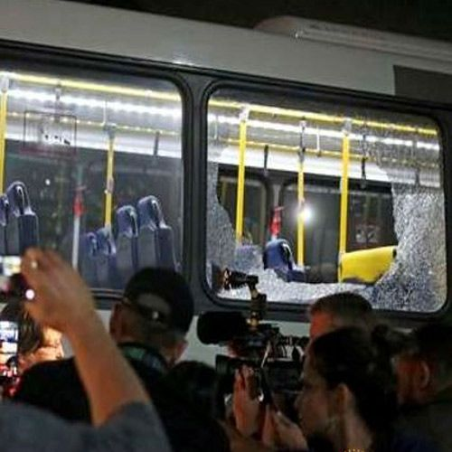 Rio Olympics Bus carrying journalists attacked no serious injuries - Sports News in Hindi