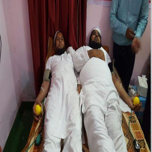 blood donation camp - Alwar News in Hindi