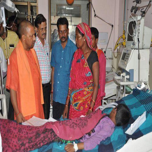 doctors reprimand by bjp mp yogi adityanath - Gorakhpur News in Hindi