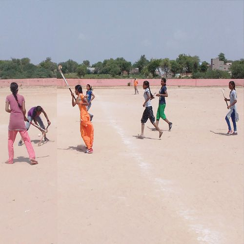 nethva defeated taranagar in girls hockey match - Churu News in Hindi