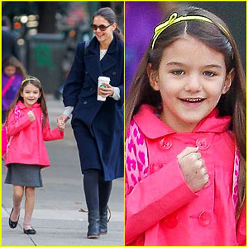 Daughter of actress Katie Holmes has her own style - Chandigarh News in Hindi