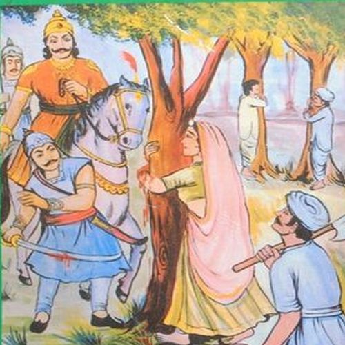 here people sacrifice their life for saving trees - Jodhpur News in Hindi