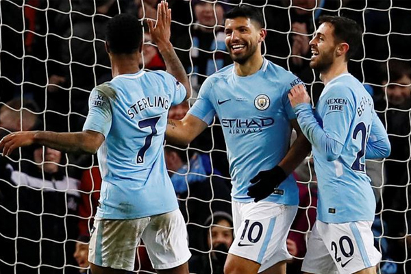 English Premier League : Manchester City beat Leicester by 5-1 - Football News in Hindi