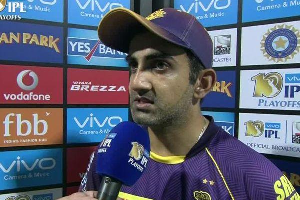 IPL-10 : Gautam Gambhir tells the reason of defeat against mumbai indians - Cricket News in Hindi