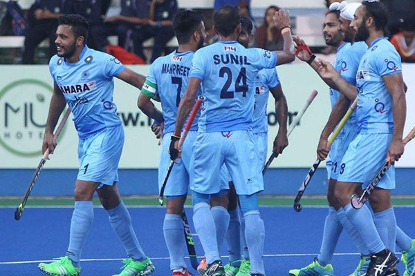 India beat Japan by 4-0 in first match of 4 nations invitational hockey tournament - Sports News in Hindi