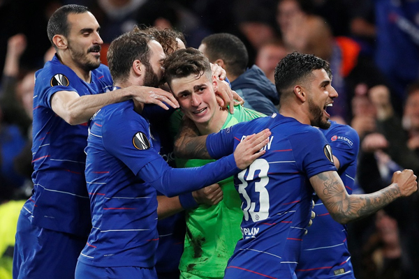 Chelsea will take on Arsenal in europa league final - Football News in Hindi