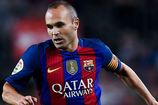Andres Iniesta to leave Barcelona at end of season 2017-18 - Football News in Hindi