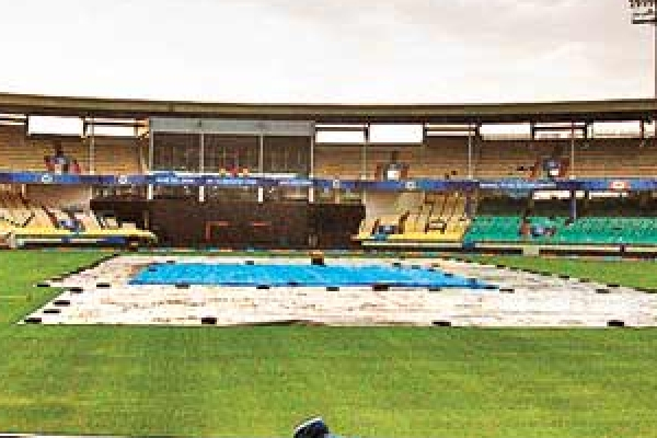 Practice Match : Rain spoiled first day game, Rohit Sharma captain of board president eleven - Cricket News in Hindi