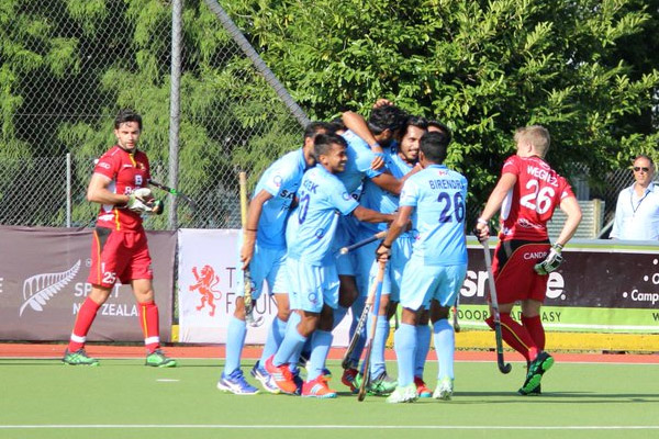 4 Nations Invitational Hockey Tournament : India takes revenge from Belgium - Sports News in Hindi