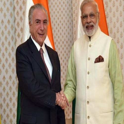 PM Narendra Modi meets Brazilian President - World News in Hindi